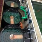 Bio Filteranlage mit Absetztechnik