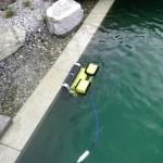 Spezieller Teichroboter für Schwimmteiche